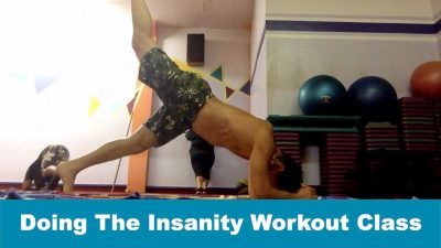 Doing The Insanity Workout Class