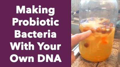 Making Probiotic Bacteria With Your Own DNA