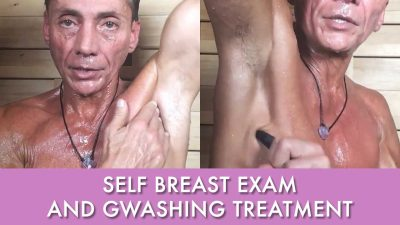 Self Breast Exam And Gwashing Treatment