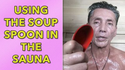 Using The Soup Spoon In The Sauna