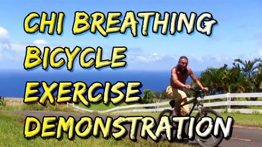 Chi Breathing Bicycle Exercise Demonstration