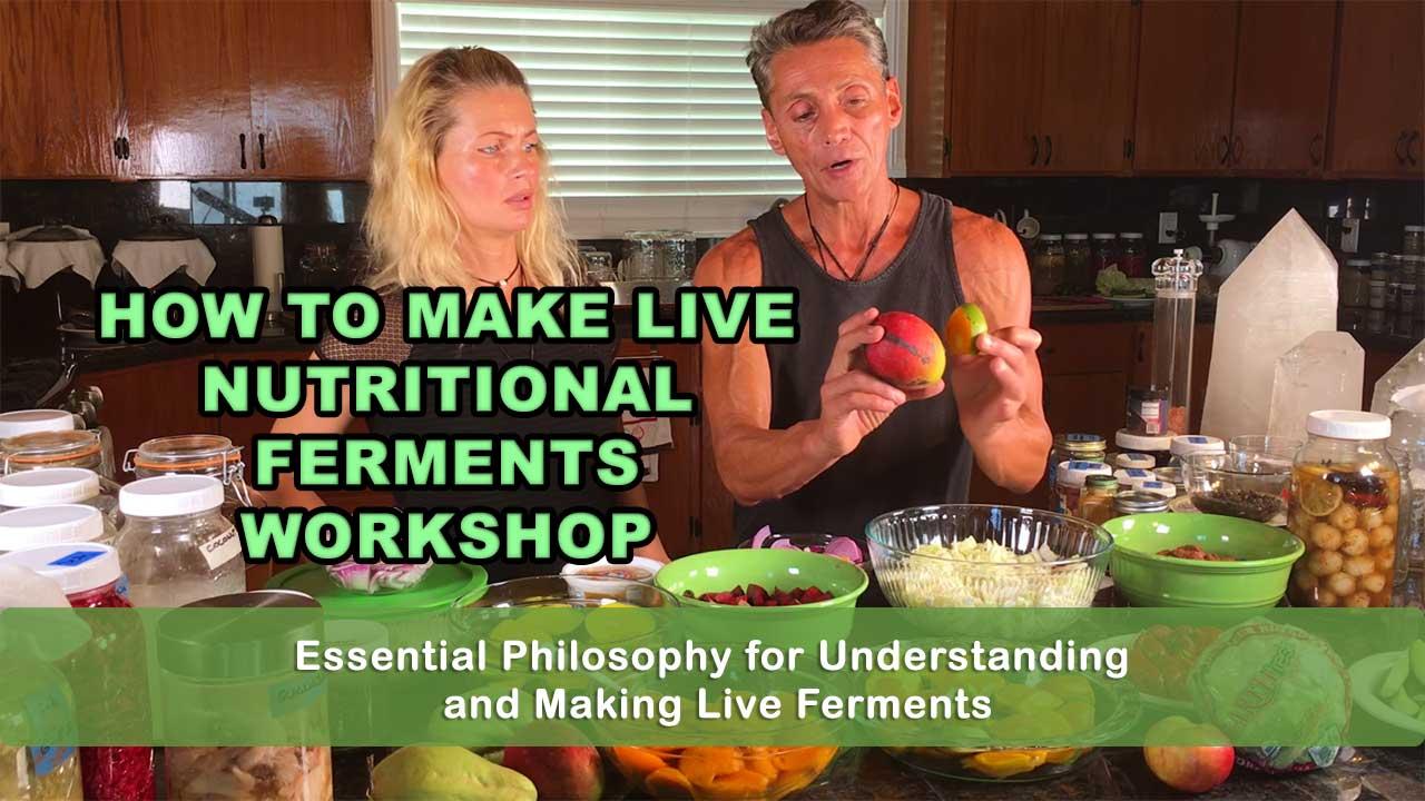 How To Make Live Nutritional Ferments Workshop