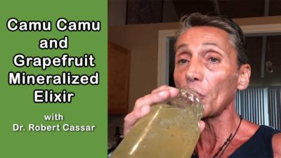 Camu Camu and Grapefruit Mineralized Elixir with Dr. Robert Cassar