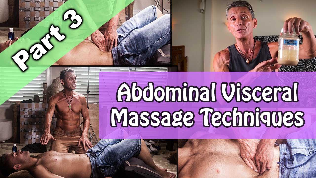 Abdominal Visceral Massage Techniques Part 3