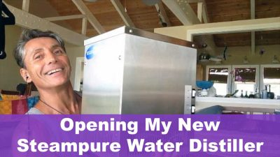 Opening My New Steampure Water Distiller