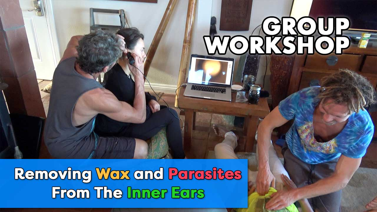 Removing Wax and Parasites From The Inner Ears | Group Workshop | Robert Cassar