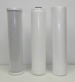 """Replacement Filter Kit for 3 Stage 20"""" Whole House Water System"""
